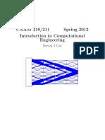 Introduction Computational Engineering