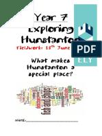 Fieldwork for Hunstanton 2017 v2