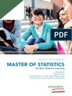 Master of Statistics