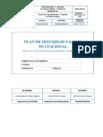 Plan de Sso Montaje de Malla Raschel