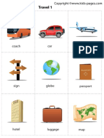 Flashcards - Travel 1 Activities