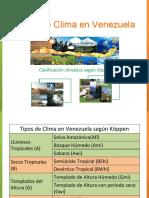 Climas en Venezuela Segun Koppen