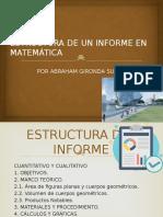 Estructura de Un Informe en Matemática