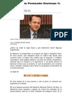 La Regla fiscal por Andrés Felipe Arias