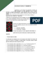 Diseño Circuito Display 7 Segmentos