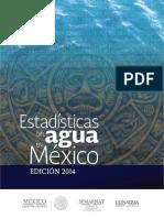 Estadisticas Agua en Mexico 2014