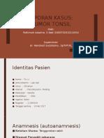 Laporan Kasus-tumor Tonsil