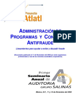 A_Adm Progs y Ctroles Anti Fraude SAS 99