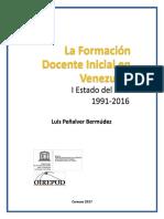 i Estado Del Arte de La Formacic3b3n Docente en Venezuela