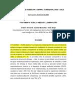 Xv Congreso de Ingenieria Sanitaria y Ambiental Aidis - Chile