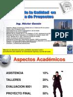 Calidad en Proyectos Mtl 2014
