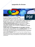 Como Tirar Propagandas Do Chrome