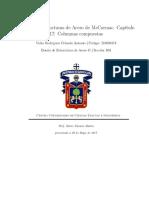 Resumen Acero estructural de McCormac. Capítulo 17