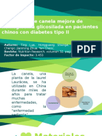 Canela y Diabetes