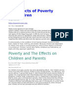The Effects of Poverty