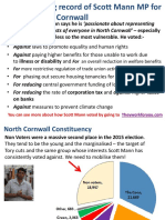 Voting record of Scott Mann MP for North Cornwall