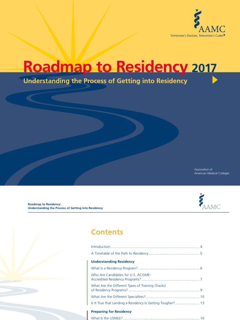 Roadmap to Residency 2017 | United States Medical Licensing