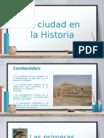 Ciudad en La Historia