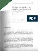 Derecho Consumidor a La Luz Tratados Internacionales