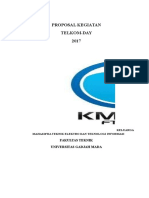 Proposal Telkom Day