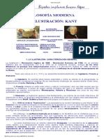 Ilustracion Kant