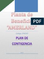 Plan de Contigencia Planta Amerland