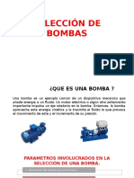 Selección Bombas