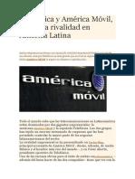 Telefónica y América Móvil