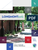 Public Works & Natural Resources Report to the Community – 2016 by City of Longmont, Colorado