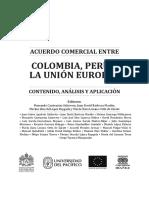 Acuerdo Comercial Contenido y Presentaciones