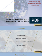 Country Selection for International Expansion Using TOPSIS -  1406553190