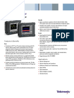 H500 SA2500 Spectrum Analyzer Datasheet 1