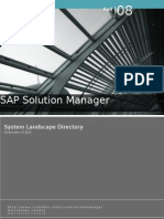 Sap Solution Manager - SLD Overview