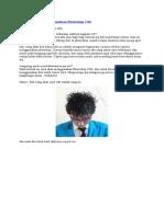Seleksi Rambut Menggunakan Photoshop CS6