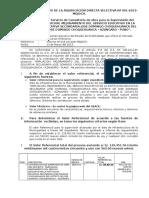 Resumen Ejecutivo Supervision Osce