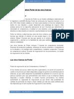 Análisis Porter de Las Cinco Fuerzas