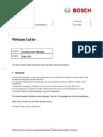Bosch Releaseletter ConfigManager 5.43.0208