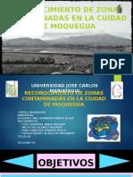DIAPOSITIVAS TIPOS DE CONTAMINACIÓN EN MOQUEGUA