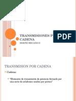 Transmisiones Por Cadena