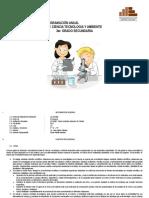 Programación Anual de Ciencia Tecnologia y Ambiente 3ro. 2017