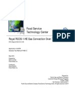 Royal RCOS-1-HE Gas Oven