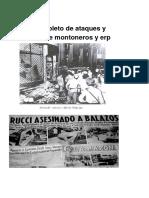 Ataques Montoneros