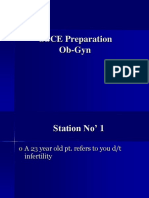 OSCE Preperation