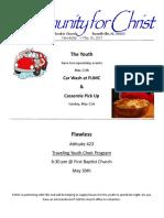Mini Newsletter 179