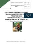 Programa Preventivo TMERT