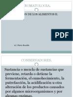 Conservadores Quimicos II.