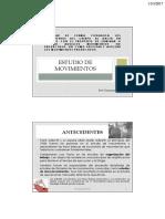 6- Estudio de Movimientos - 2017-1 (Prof. Pelaez)