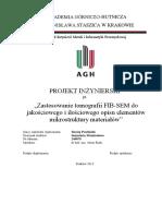 Microstructure 3D SEM-FIB Tomography