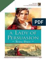 Dare Tessa - The Wanton Dairymaid 03 - Una Dama Persuasiva