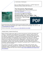 Humanizing Mental Health_Existentialism and the DSM-5 Can_Humanistic Psychology Light the Way